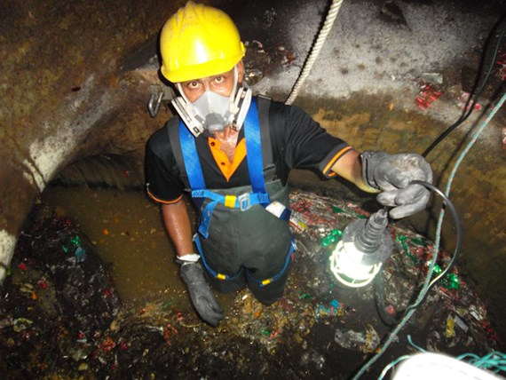 SUMP PIT CLEANING